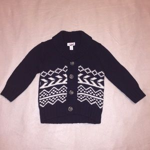 Cat & Jack baby boy knitted cardigan